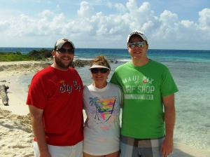 Family at Goff's Cay