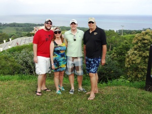 My Family in Roatan, Honduras