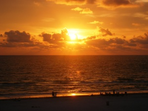 Sunset from Surfside Balcony