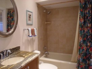 The Villas of Clearwater Beach Bathroom